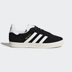 CHAUSSURE KID GAZELLE - BLACK / WHITE