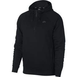 SWEAT NIKE SB ICON HZ HOODIE - BLACK/DARK GREY