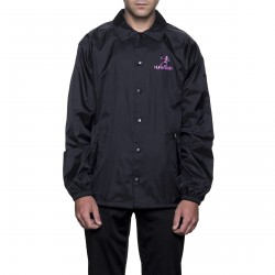 VESTE HUF OWSLEY COACHES - BLACK