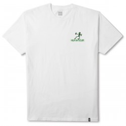 T-SHIRT HUF OWSLEY - WHITE