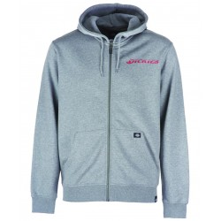 SWEAT DICKIES SHALLOWATER HOOD ZIP - HTHR GREY