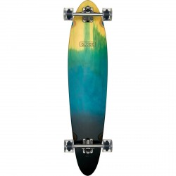 "LONGBOARD GLOBE PINNER CLASSIC 40"" - BLUE FADE DYE + ROUES KRYPTONICS 70MM"