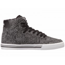 CHAUSSURES SUPRA KID VAIDER - BLACK / WHITE