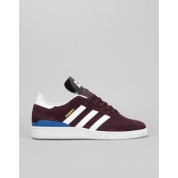 CHAUSSURES ADIDAS BUSENITZ - DARK BURGUNDY / ROYAL