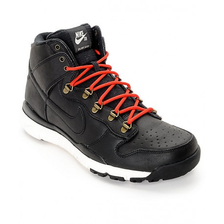 CHAUSSURES NIKE SB DUNK HIGH BOOT - BLACK / BLACK