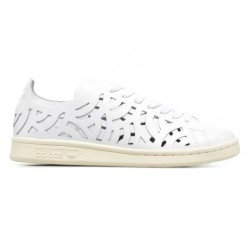 CHAUSSURE FEMME ADIDAS STAN SMITH CUTOUT - WHITE