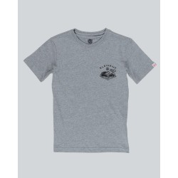 T-SHIRT ELEMENT KID RIVER KEEPER - GREY HEATHER