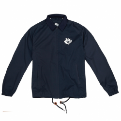 VESTE MAGENTA COACH JACKET - DARK NAVY MAT NYLON