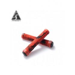 POIGNEE FASEN - RED BLACK