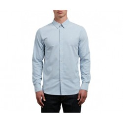 CHEMISE VOLCOM OXFORD STRETCH LS - WRECKED INDIGO