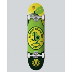 SKATEBOARD COMPLET ELEMENT U'R WHAT YOU EAT 7.7