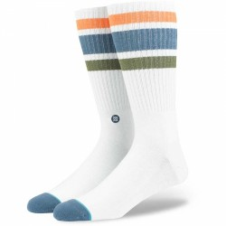 CHAUSSETTE STANCE DOWNHILL - WHITE