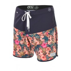 "BOARDSHORT PICTURE ANDY 17"" - PINUP / BLACK"
