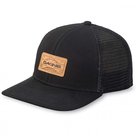CASQUETTE DAKINE PEAK TO PEAK TRUCKER - BLACK