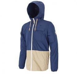 VESTE PICTURE ORGANIC SURFACE JACKET - DARK BLUE / BEIGE