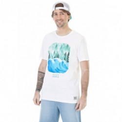 T-SHIRT PICTURE POSTCARD - WAVE & TREE