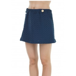 JUPE PICTURE ORGANIC BELLA - DARK BLUE