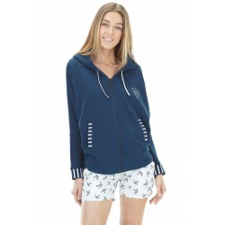 SWEAT PICTURE ORGANIC ALLOA - DARK BLUE