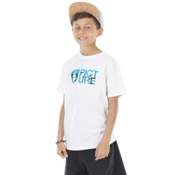 T-SHIRT PICTURE BASE TREE - WHITE