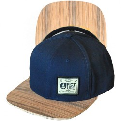 CASQUETTE PICTURE SHERIDAN WOOD - NAVY