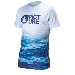 T-SHIRT PICTURE HOOLEN RUSHGARD - WAVE PRINT