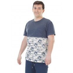 T-SHIRT PICTURE WELLINGTON - DARK BLUE