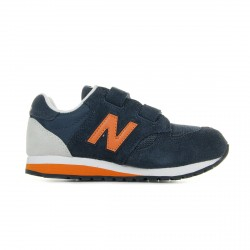 CHAUSSURE NEW BALANCE ENFANT 520 SCRATCH - ORANGE / BLUE
