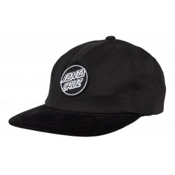 CASQUETTE SANTA CRUZ LOT CAP - BLACK