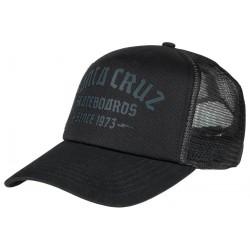 CASQUETTE SANTA CRUZ BLACKLETTER CAP - BLACK
