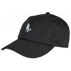 CASQUETTE SANTA CRUZ JJ PRAY CAP- BLACK