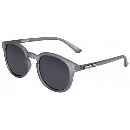 LUNETTES SANTA CRUZ BANK - CLEAR CHARCOAL
