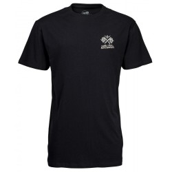 T-SHIRT SANTA CRUZ JESSEE V8 - BLACK