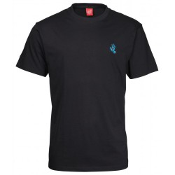 T-SHIRT SANTA CRUZ SCREAMING MINI HAND - BLACK
