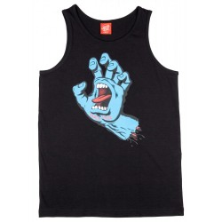 DEBARDEUR SANTA CRUZ ENFANT SCREAMING HAND - BLACK