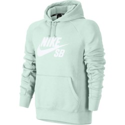SWEAT NIKE SB HOOD ICON - BARELY GREY WHITE
