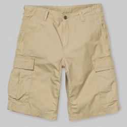 SHORT CARHARTT WIP REGULAR CARGO - LEATHER RINSED