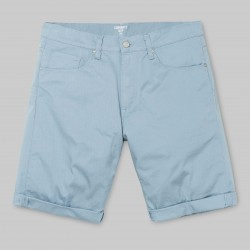 SHORT CARHARTT WIP SWELL NO LENGHT - DUSTY BLUE RINSED