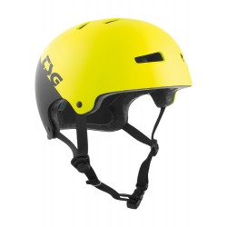 CASQUE TSG EVOLUTION ENFANT INJECTED COLOR - DIVIDED ACID YELLOW BLACK