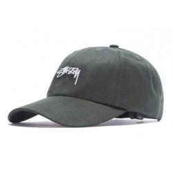 CASQUETTE STUSSY SUITING LOW PRO - PINE