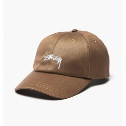 CASQUETTE STUSSY SUITING LOW PRO - KHAKI