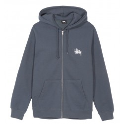 SWEAT STUSSY BASIC ZIP - INK