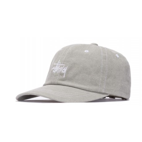 CASQUETTE STUSSY WASHED STOCK LOW PRO - GREEN