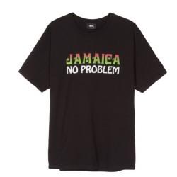 T-SHIRT STUSSY JAMAICA NP - BLACK