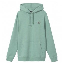 SWEAT STUSSY BASIC - SAGE