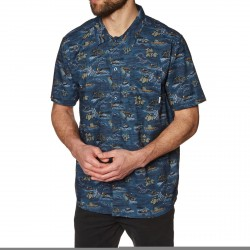 CHEMISE ELEMENT WENDEL SS - RIVER RATS BLUE