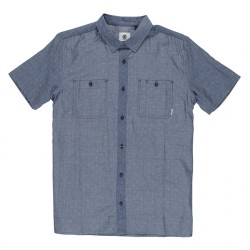 CHEMISE ELEMENT MURPHY SS - BLUE CHAMBRAY