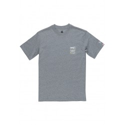 T-SHIRT ELEMENT COMMIT ICON - GREY HEATHER