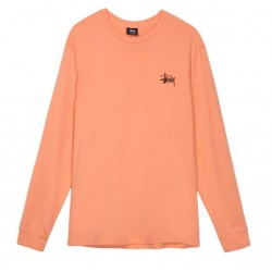 T-SHIRT STUSSY PIN UP - SALMON