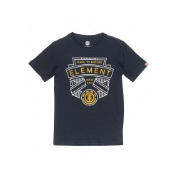 T-SHIRT ELEMENT ASKEW BOY - FLINT BLACK