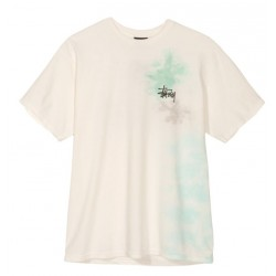T-SHIRT STUSSY MIST - NATURAL
